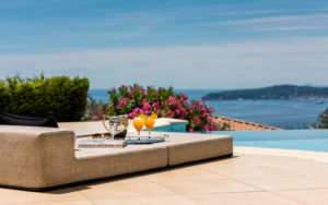 stunning seaviews at Villa Monaco